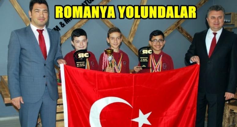 ROMANYA YOLUNDALAR