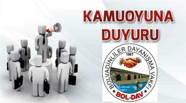 BOLDAV 2018 YILI FAALİYET RAPORU YAYINLANDI.!