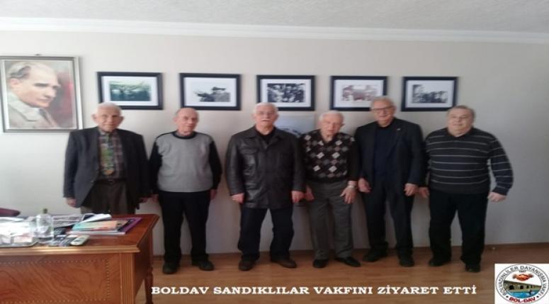 BOLDAV AFYON DERNEK ve VAKIFLARINI ZİYARET ETTİ.!