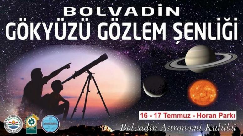 BOLVADİN'DE ŞENLİK VAR, AMA GÖKYÜZÜNDE !!!