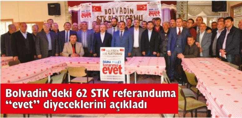 """62 STK referanduma """"evet"""" diyeceklerini açıkladı"""