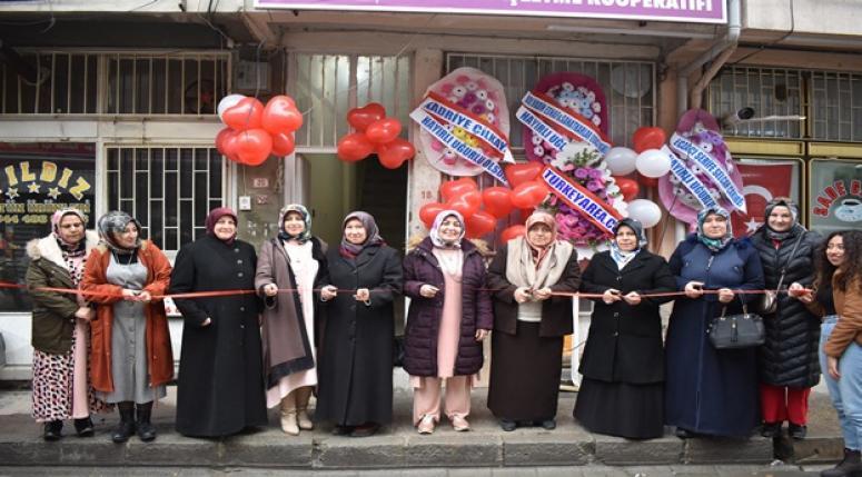 Bolvadin'de üretici kadın kooperatifi kuruldu