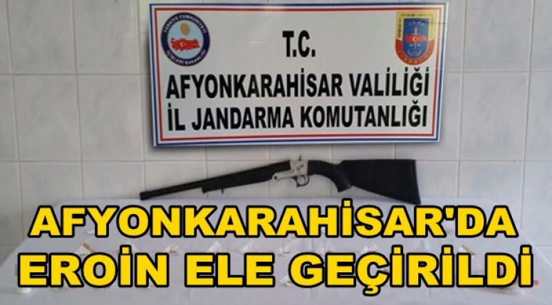 AFYON'DA EROİN ELE GEÇİRİLDİ !!!