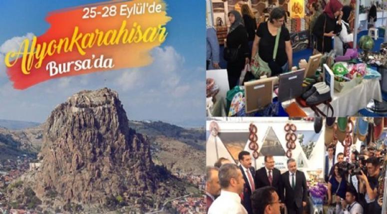 Fuarın en gözde standı, Afyonkarahisar Belediyesi oldu !!
