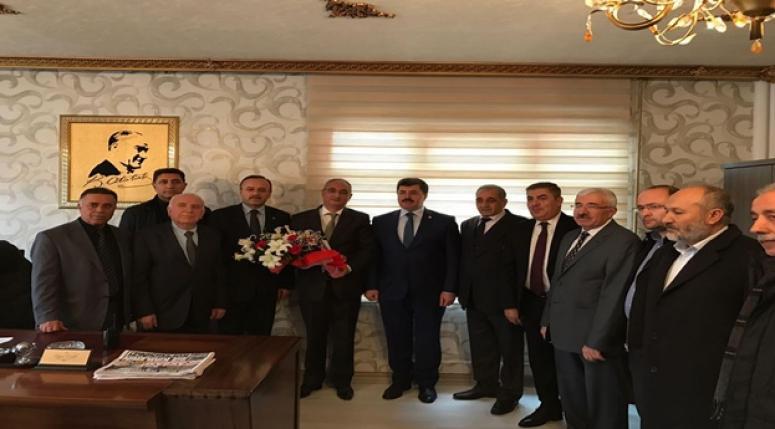 Mv. Ali ÖZKAYA, Ankara Çevik Kuvvet Şube Müdürlüğü'ne başsağlığı ziyareti gerçekleştirdi