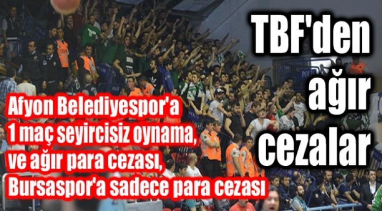AĞIR CEZA AFYON BELEDİYESPOR'A !!!