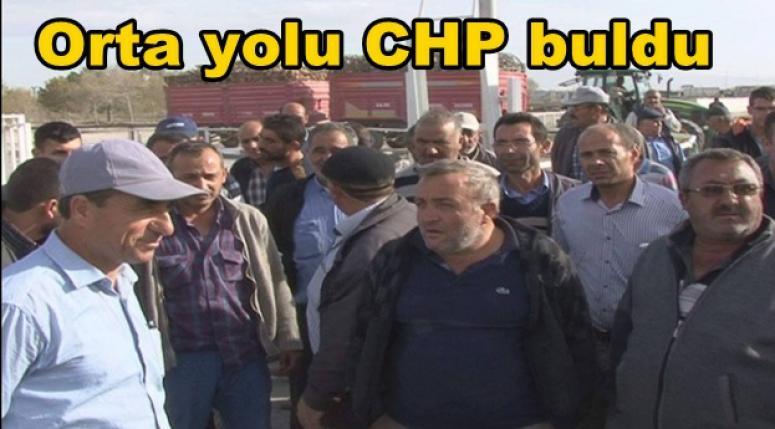 Orta yolu CHP buldu