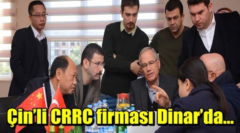 Çin'li CRRC firması Dinar'da…