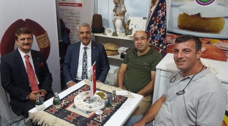 Sayın Erdoğan Atso Standına Teşrif Etti