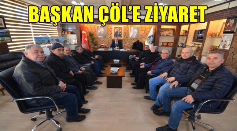 Mustafa Çöl'ü ziyaret ettiler...