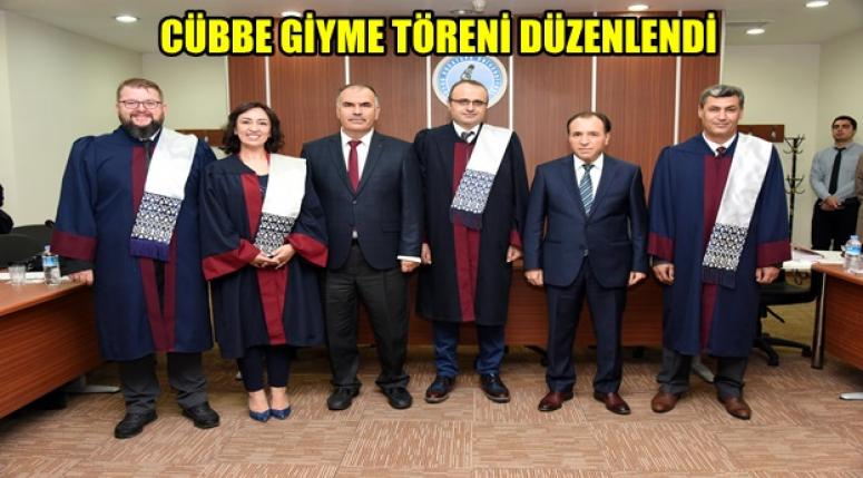 Akü'de Cübbe Giyme Töreni düzenlendi !!