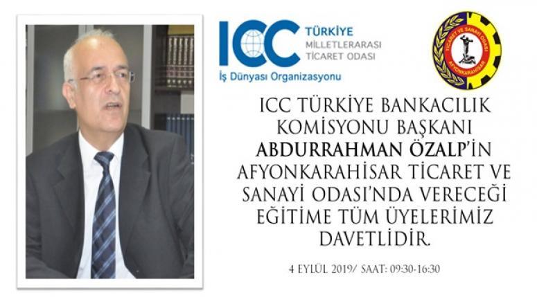 Abdurrahman Özalp, Afyon'da eğitim verecek !!