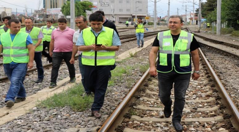 Afyonkarahisar TCDD den İstasyon Personeli İçin Emniyetli Çalışma Yolu