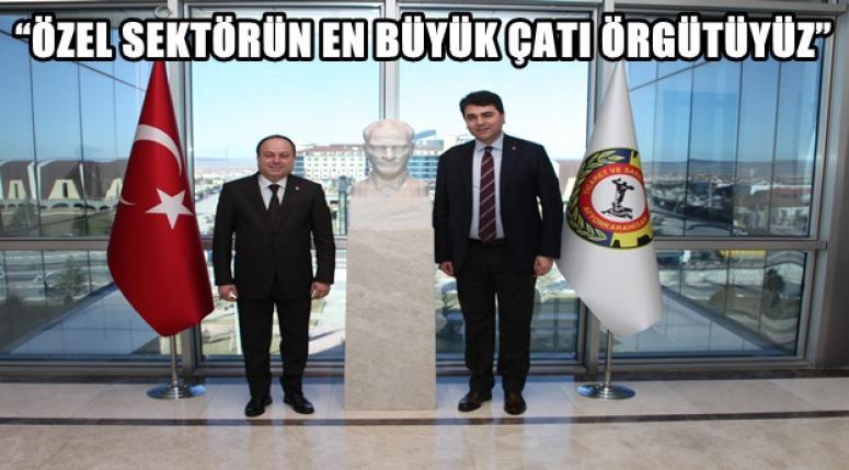 GÜLTEKİN UYSAL SERTESER'İ ZİYARET ETTİ