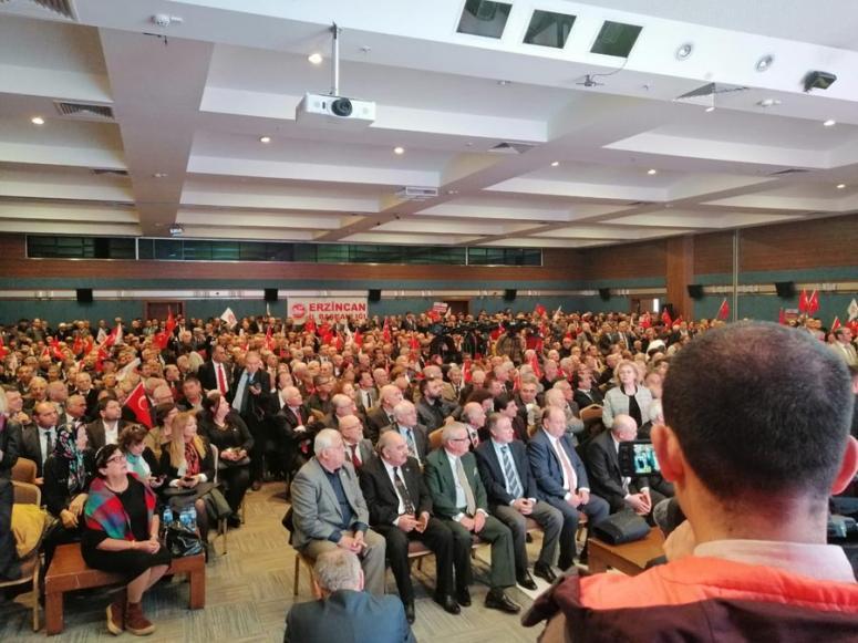Demokrat Parti Genişletilmiş Temsilciler Meclisi toplantısı
