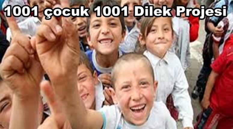 1001 çocuk 1001 Dilek Projesi 17.yılında