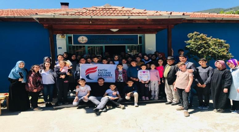 Ülker, Fatih Sultan Mehmet Vakıf Üniversitesi Öğrencileri ve Genç İyilik Gönüllüleri 1001 Hayalleri Gerçeğe Taşıdı…