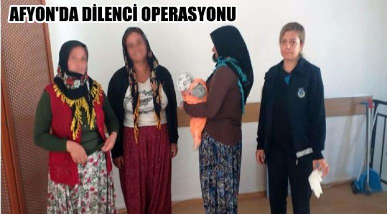 Afyon'da Dilenci Operasyonu !!