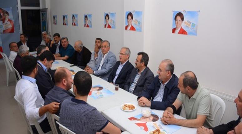 Dinar Ticaret ve Sanayi Odasından İYİ Parti'ye Ziyaret