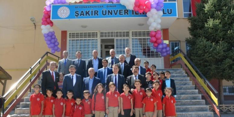"""Dinar'da 2019-2020 """"İlköğretim Haftası"""" Kutlandı."""