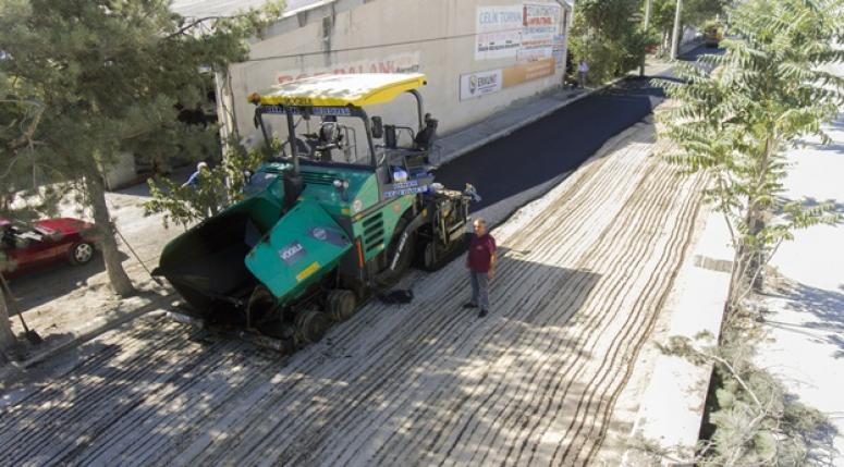 Dinar Sanayisi Asfalta Kavuşuyor