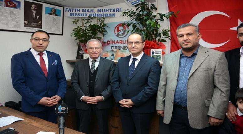 Başkan Acar Dinarlılar Derneğini Ziyaret Etti
