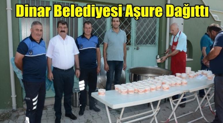 Dinar Belediyesi Aşure Dağıttı !!