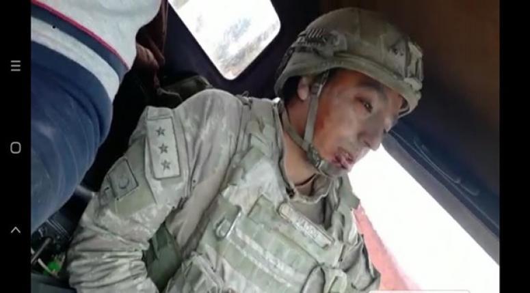 Yaralıları taşıyan komutanın Dinar'lı olduğu öğrenildi !