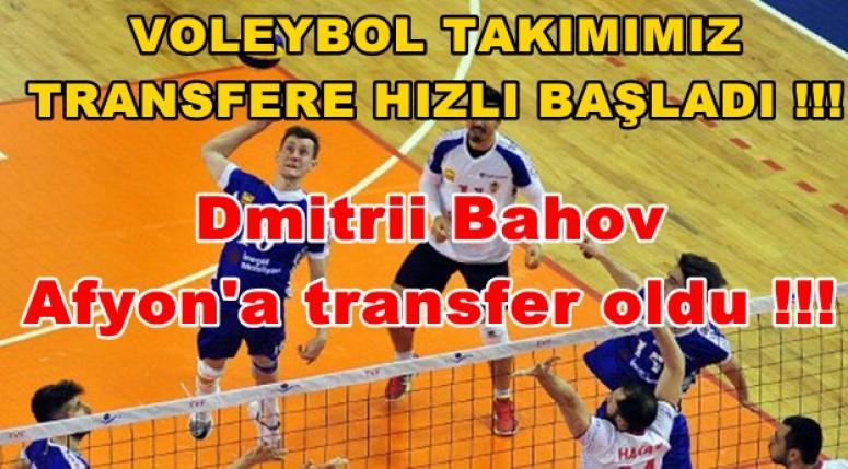 Dmitrii Bahov, Afyon'a transfer oldu !!!