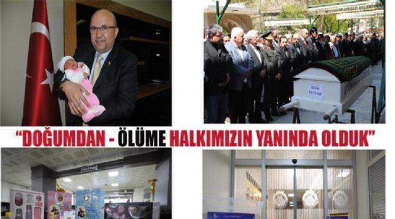 Doğumda ve Ölümde Afyonkarahisar Belediyesi !!