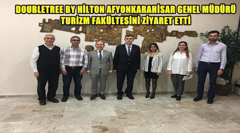 DOUBLETREE BY HİLTON TURİZM FAKÜLTESİNİ ZİYARET ETTİ