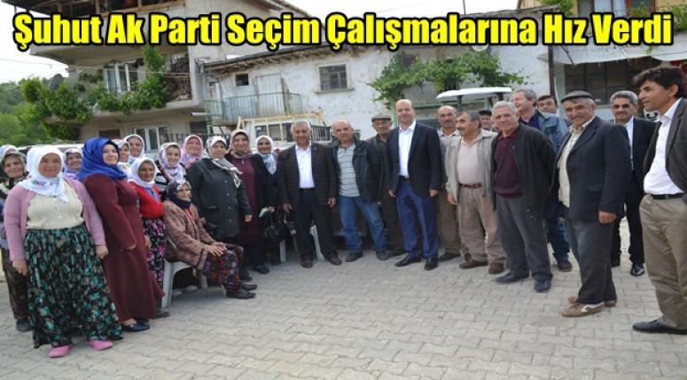 Afyon Şuhut Ak Parti Seçim Çalışmalarına Hız Verdi