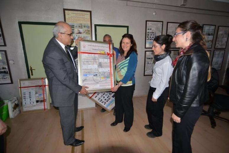 DSÖ Halk Sağlığı Müdürlüğünü Ziyaret etti.