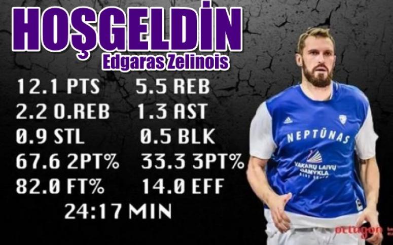 Afyon Basketbol takımımız Edgaras Zelinois'i kadrosuna kattı