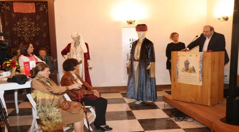 Osmanlı'da Yahudi Kıyafetleri' sergisi İzmir'de açıldı