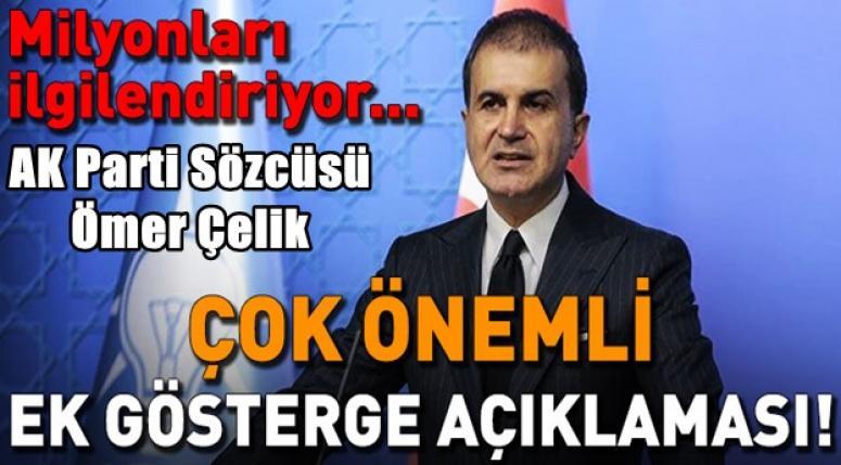 Ömer Çelik, MKYK toplantısı sonrası açıklamalarda bulundu