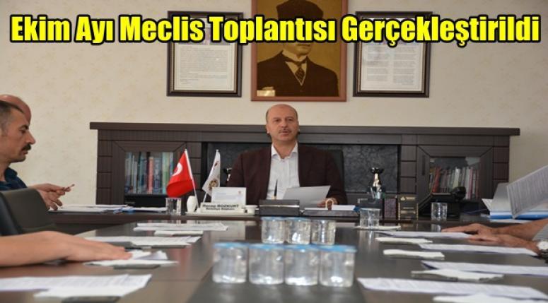 Şuhut Belediyesi Ekim Ayı Meclis Toplantısını Gerçekleştirdi.