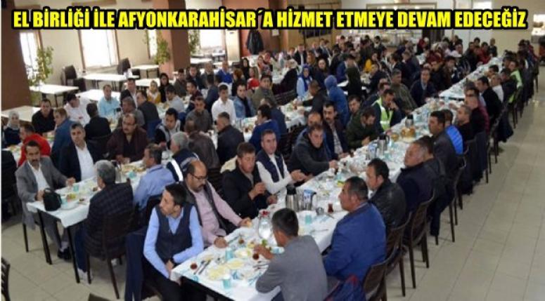 Başkan Zeybek İşletme Müdürlüğü Personeliyle Kahvaltıda Buluştu