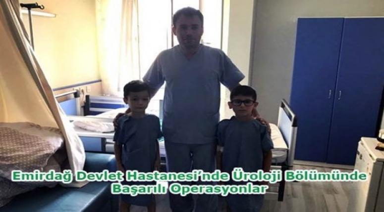 Başarılı ameliyatın adresi Emirdağ Devlet Hastanesi !!!
