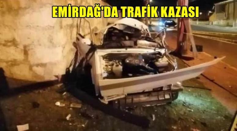 Emirdağ Trafik Kazası !! 2 kişi öldü..