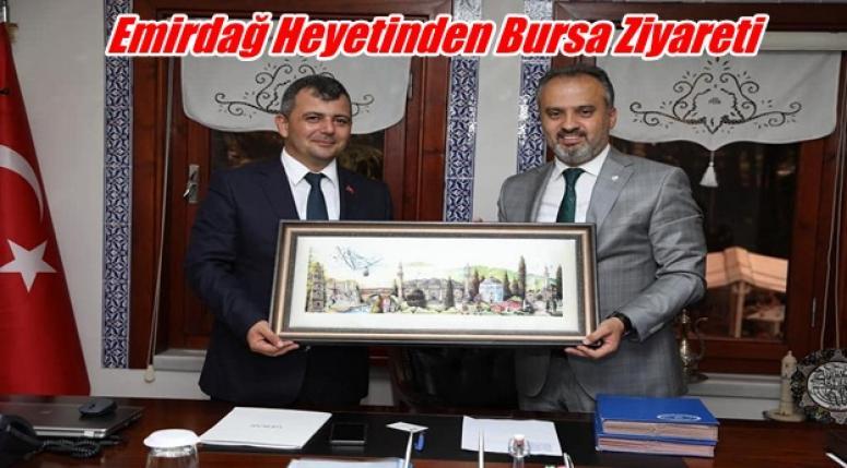 Emirdağ Heyetinden Bursa'ya ziyaret !!