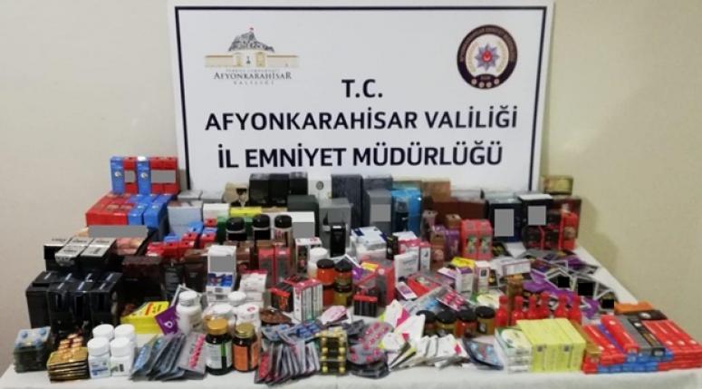 Afyon'da kaçakçılık operasyonları !!