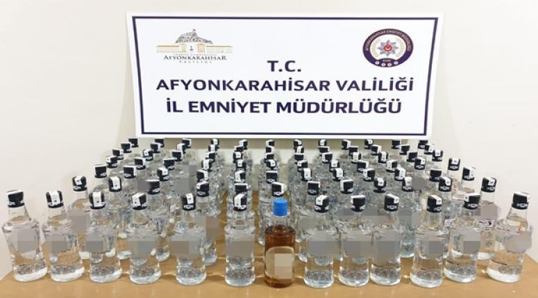 Afyon'da Sahte içki !!