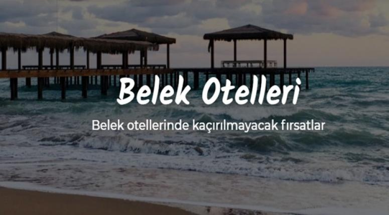 En Sevilen Belek Otelleri