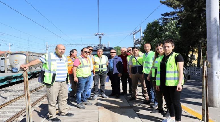 TCDD 7.Bölge Müdürlüğü Demiryolunda test çalışmaları !!