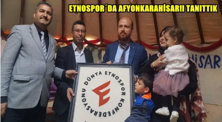 4.Etnospor Kültür Festivali'nde Afyonkarahisar'ı tanıttık !!