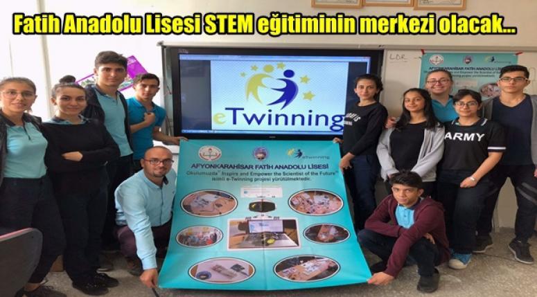 Fatih Anadolu Lisesi STEM eğitiminin merkezi olacak...