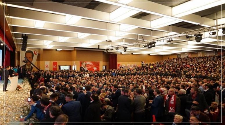 Yeniden Refah Partisinde Temayüller yapılıyor..
