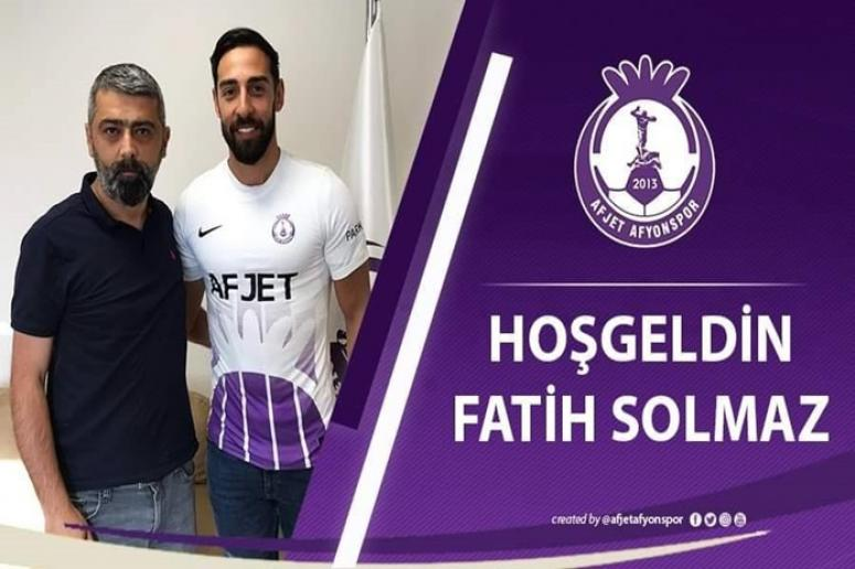 Afjet Afyonspor - Hoşgeldin Fatih Selimhan Solmaz !!