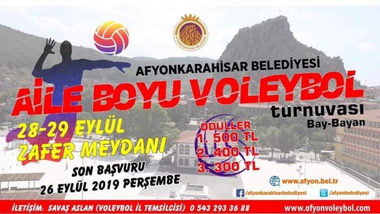 Haydi Afyon, Voleybol oynamaya !!!